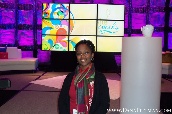Dana Pittman at She Speaks Conference 2012