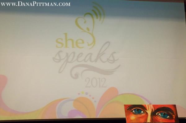 Dana Pittman at She Speaks Conference 2012