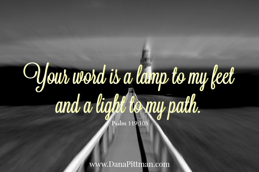 Day 12: The Word is a Lamp | DanaPittman.com