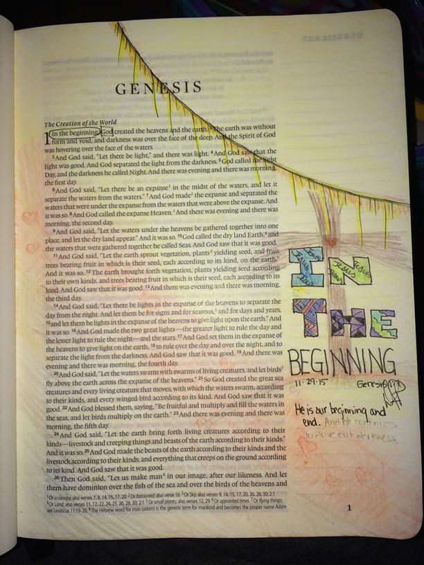 Day 0 - Advent Bible Journaling || DanaPittman.com