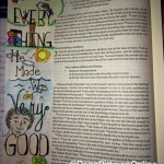 Day 2 - Advent Bible Journaling || DanaPittman.com