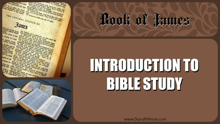 Introduction to Bible Study - Book of James