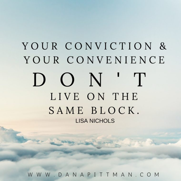 Conviction | Dana Pittman