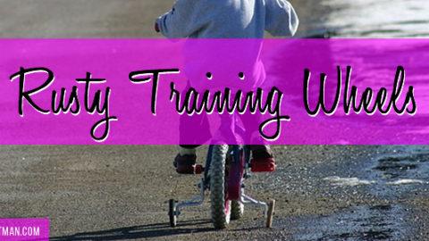 Rusty Training Wheels | Write 31 Days | DanaPittman.com